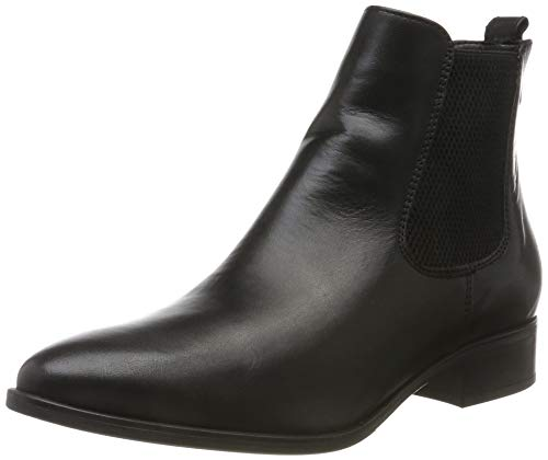 Tamaris Damen 1-1-25388-23 Chelsea Boots, Schwarz (Black Leather 3), 39 EU
