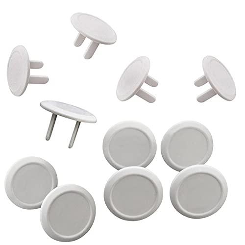Dreafly Tapas de enchufes de tomacorrientes de Seguridad Tapa Protectora contra descargas...