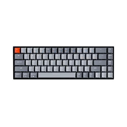 Keychron K6 65% Compact Wireless Mechanical Keyboard for...