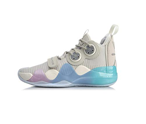 Li Ning Wow 8 'Cotton Candy' Wade Men Professional Basketball Shoes Boom Technology Sports Shoes Sneakers ABAP113-9 US 7
