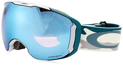 Oakley unisex-adult Airbrake Sunglasses, Mehrfarbig (balsam camo/prizm sapphire/prizm hi pink, Einheitsgröße