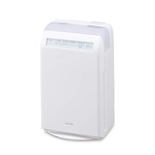アイリスオーヤマ 加湿 空気清浄機 脱臭 花粉 加熱式 10畳 HXF-C25-W ホワイト