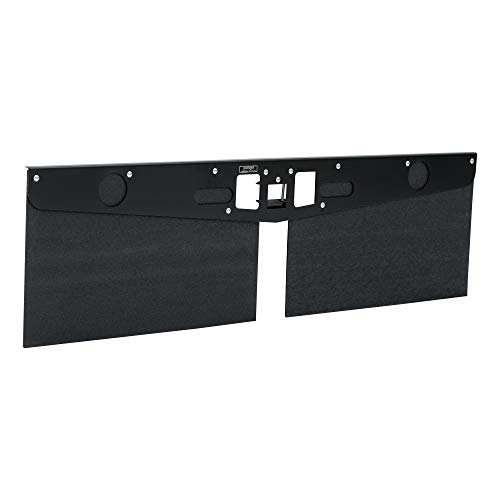 LUVERNE 255300 20-Inch Long Textured Rubber Tow Guard Hitch-Mounted Mud Flaps for 2, 2-1/2 or 3-Inch Ball Mount Shank