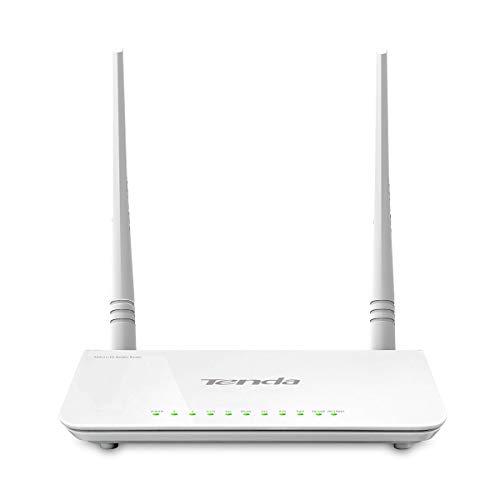 Tenda D303 draadloze router (dual band (2.4 GHz), 64-bit WEP, WDS, WPA2-PSK, IEEE 802.11 n) Fast Ethernet, Blanco, IEEE 802.11 n)