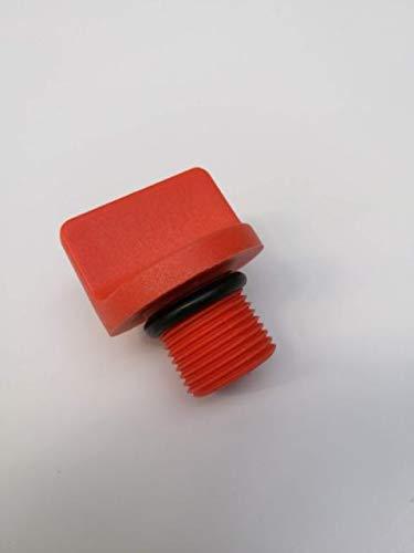 Gardena Verschlussschraube rot klein für Gartenpumpe Bewässerungspumpe 3000/x 3500/x 4000/