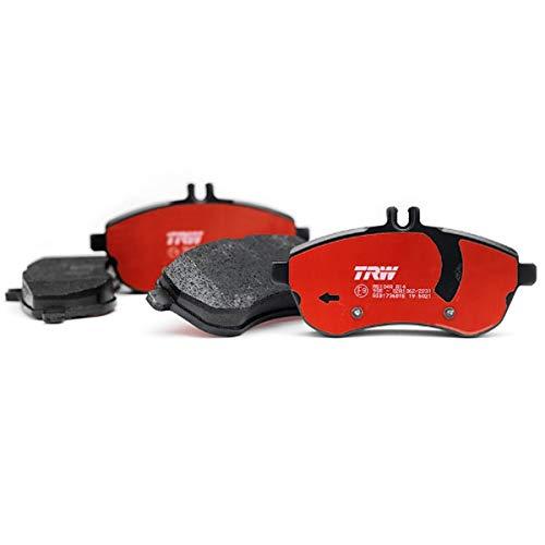 765LC – Par de Pastillas de Freno traseras semimetálicas de Mezcla orgánica Compatible con Rieju RS-2 125 2006  2010 TRW