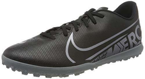 Nike Unisex AT7999-001_47 Turf Football Trainers, Black, EU