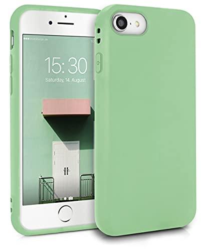 MyGadget Cover per Apple iPhone 7/8 / SE 2020 - Custodia Protettiva in Silicone Morbido – Case TPU Ultra Flessibile - Protezione Antiurto - Verde Chiaro