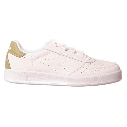 Diadora B.Elite Premium uomo, pelle liscia, sneaker bassa, 41 EU
