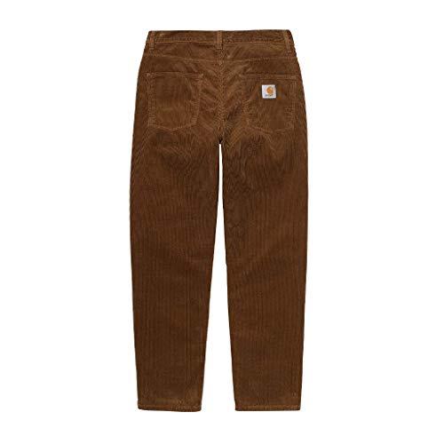 Carhartt Newel Pant Pantalon en velours côtelé pour homme - Marron - W36