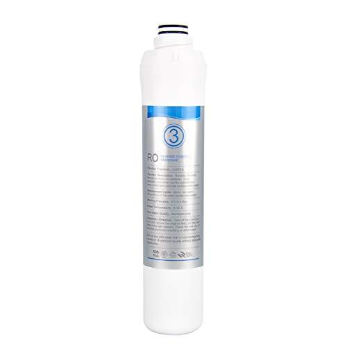 KFLOW-Wasserfilterwechsel, 3. Stufe - Umkehrosmosemembran (R.O.-Membran) Aufsatzwasserfilter KFL-ROPOT-180