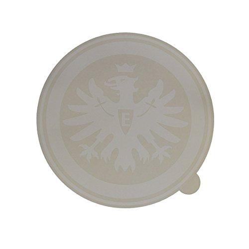 Eintracht Frankfurt Aufkleber, Sticker, Autoaufkleber Logo weiß - Plus gratis Aufkleber Forever Frankfurt