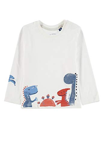 TOM TAILOR T- Shirts 1/1, Blanc (Cloud Dancer|White 1610), 80 cm Bébé garçon