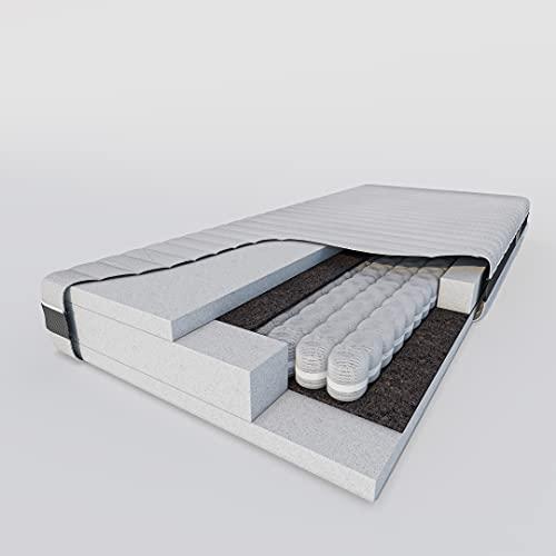 Hilding Sweden Federkernmatratze Max Balance, 180 x 200 cm, Mittelfeste Matratze für alle Schlaftypen (H2-H3), ÖKO-TEX® Standard 100 Zertifiziert