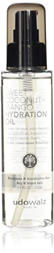 Udo Walz Sweet Coconut + Mango Hydration Oil (1 X 100 ml)