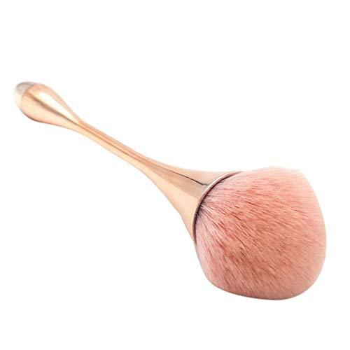 PRENKIN Kleine Taille Große Puder-Bürste weiches Haar Thin Rod Gesicht lose Makeup Foundation...