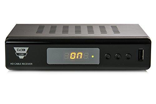 Opticum HD C200 - HD Kabelreceiver (HDMI, Full HD 1080p, EPG, SCART, USB) schwarz