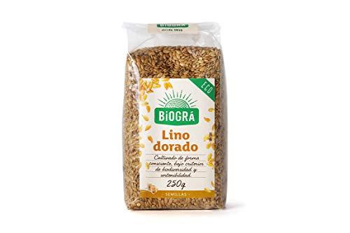 Biográ - Semillas Ecológicas de Lino Dorado (250 g)