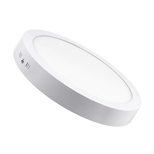 LEDKIA LIGHTING Plafón LED Circular 24W Blanco Frío 6000K - 6500K