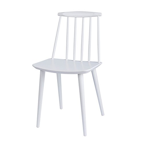 J77 / J 77 Chair Stuhl Weiss gebeizt Hay