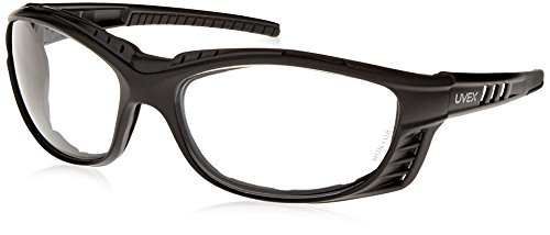 UVEX by Honeywell S2600XP Uvex Livewire Sealed Safety Eyewear with Matte Black Frame, Clear Lens Tint, UV Extreme  and Anti-Fog Lens Coating