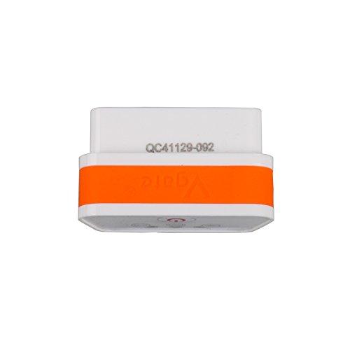 Vgate 2 iCar 2 Bluetooth OBD2 Scanner Scan Adapter Auto Diagnose ELM327 Code Reader OBD2 OBDII Scanner für Android PC Orange/Weiß
