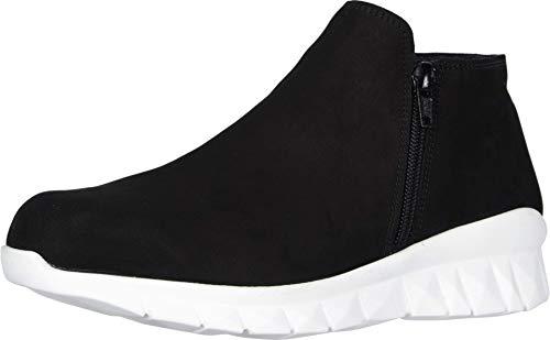 NAOT Footwear Women's Zodiac Shoe Black Velvet Nubuck 5 M US