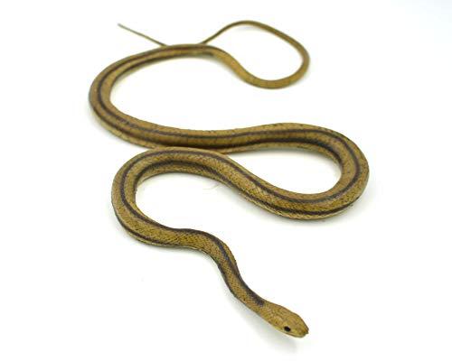 MameJo Lifelike Rubber Replica Yellow Rat Snake 48' Action Figure