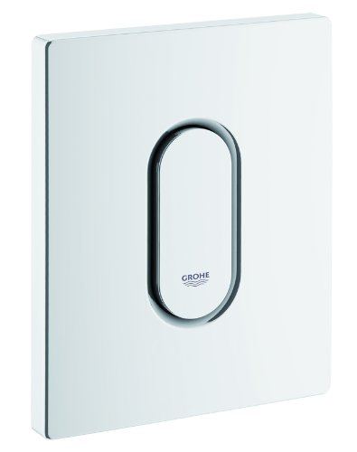 Preisvergleich Produktbild GROHE Arena Cosmopolitan / WC - Urinalbetätigungsplatte / Alpinweiß / 38857SH0