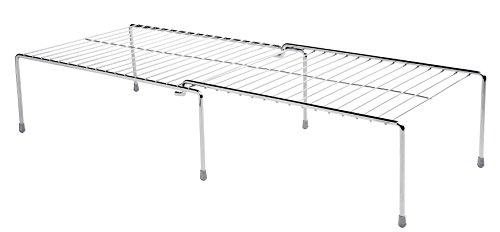 Organizador Retangular Extensivel 67cm, Future, Cromado