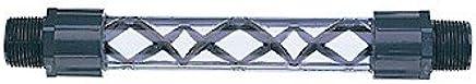 """Koflo 2-40C-4-12-2 Clear PVC schedule 40 pipe mixer; 2"""" NPT(M), 12 elements"""