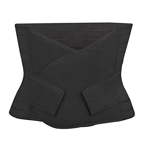 better18 Postpartum Belly Wrap Belt Band, Post Pregnancy Recovery Support Girdle, Women C Section Abdominal Binder, Postpartum Recovery Weight Loss Body Shaper