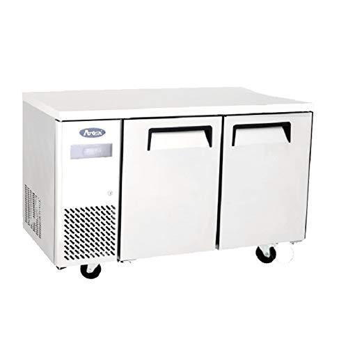 Table Réfrigérée Négative à roulettes 270 L - 2 Portes - Atosa - 2 Portes 700 Pleine