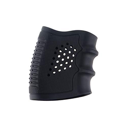 ToopMount Grip Glove Holster Funda de Goma para Pistola Pistolas Antideslizantes Airsoft Holster para Glock 17/19/20/21/22/23/25/31/32/34/35/37/38, M92 (Black)