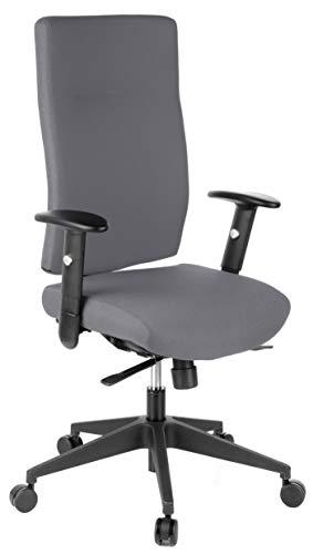 HJH Office Pro-Tec 300 Bureaustoel, draaistoel, stof antraciet