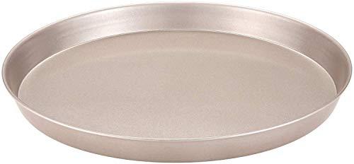 "Syga Round Non Stick Carbon Steel Pizza, Cake Tin (Champagne Gold, 9"", 23 cm)"