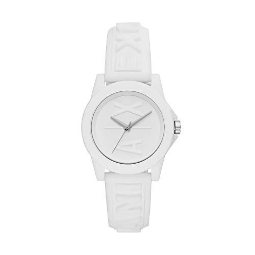 Armani Exchange Reloj Analogico para Mujer de Cuarzo con Correa en Silicona AX4366