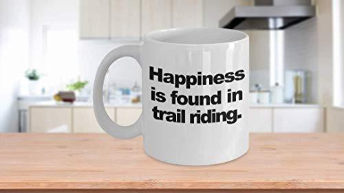 11 oz Koffie Mok, Thee Beker, Trail Rijden Koffiemok Grappig Geschenk voor Off Road Paard Rijden Dirt Bikes Berg