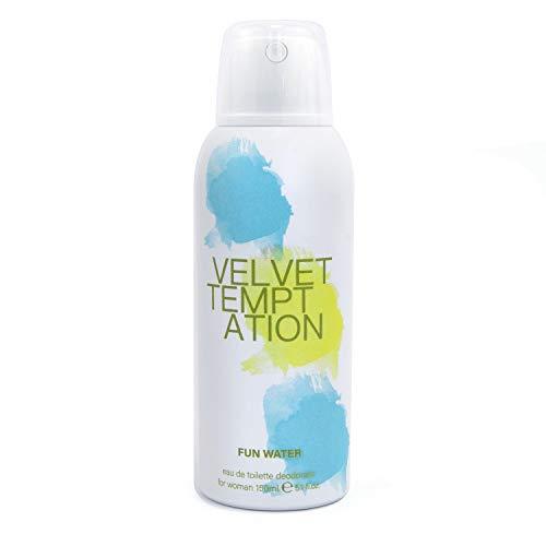Fun Water - Velvet Temptation Déodorant en vaporisateur pour femme, 150 ml
