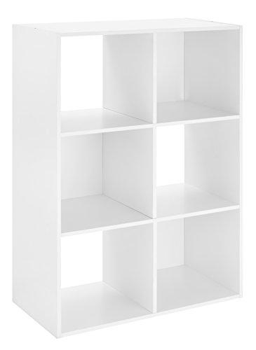 Whitmor 6 White Cube Organizer