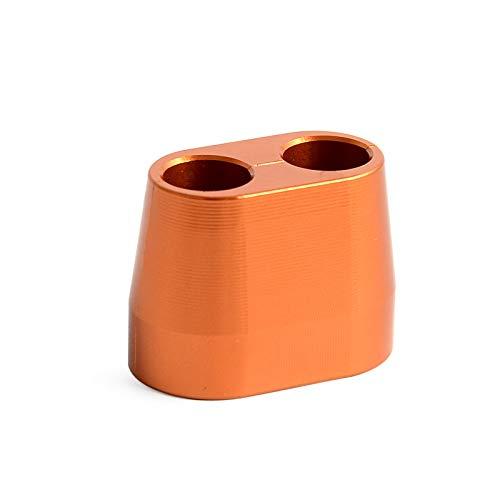 Apricot blossom Cable del Acelerador Protector del Protector de la Cubierta en Forma for Husaberg Husqvarna TE FE TC FC 250 350 449 450 501 570 350S 501S TXC 310 511 SMR SM 610 (Color : Orange)