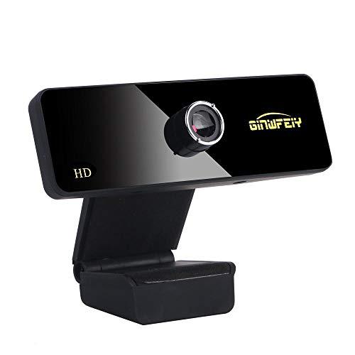FRGTHYJ 720p / 1080pusb Computer HD-Kamera Video HD Free Drive mit Mikrofon Webcam Anchor Spezielle Live-Videokonferenz Mikrofon Drehung 1080P