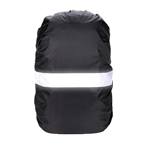 QSCTYG 3 unids Cubierta de Lluvia Mochila Reflectante 20L 35L 45L 60L Bolsa Impermeable al Aire Libre Camping Senderismo Escalada Bolsa de Escalada Polvo Rainvover Funda Mochila Impermeable 982