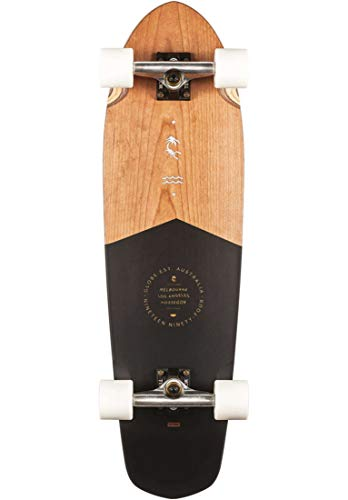 Globe Big Blazer Complete Skateboard,Black Cherry 32,32