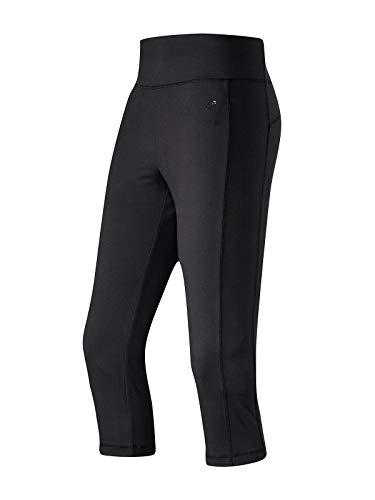 Joy Sportswear Nadine 3/4-Hose für Damen mit kurzem Bein, hochwertige Dreiviertel-Sporthose aus strapazierfähigem Material mit Shaping Effekt Normalgröße, 40, Black