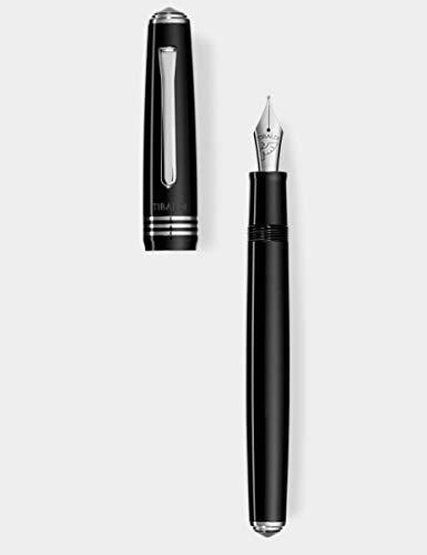 Penna stilografica Tibaldi N60 black F