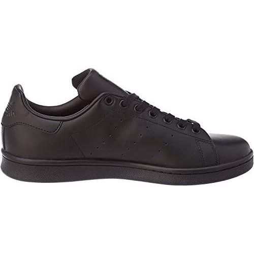 Adidas Stan Smith Scarpe sportive, Adulto, Nero - Black, 42 EU