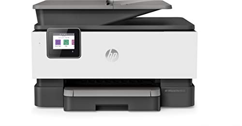 HP OfficeJet 8012 Multifunctionele printer (HP Instant Ink, A4, printer, scanner, kopieerapparaat, WLAN, Duplex, HP ePrint, Airprint) met 12 maanden Instant Ink 22 Seiten/Min aluminium