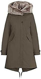 WOOLRICH W´s Literary Rex Parka Military Olive-S