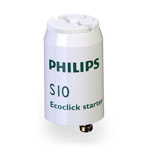 Philips s1010W 4W a 65W universal Starter FSU S10, plástico, blanco, Integrado